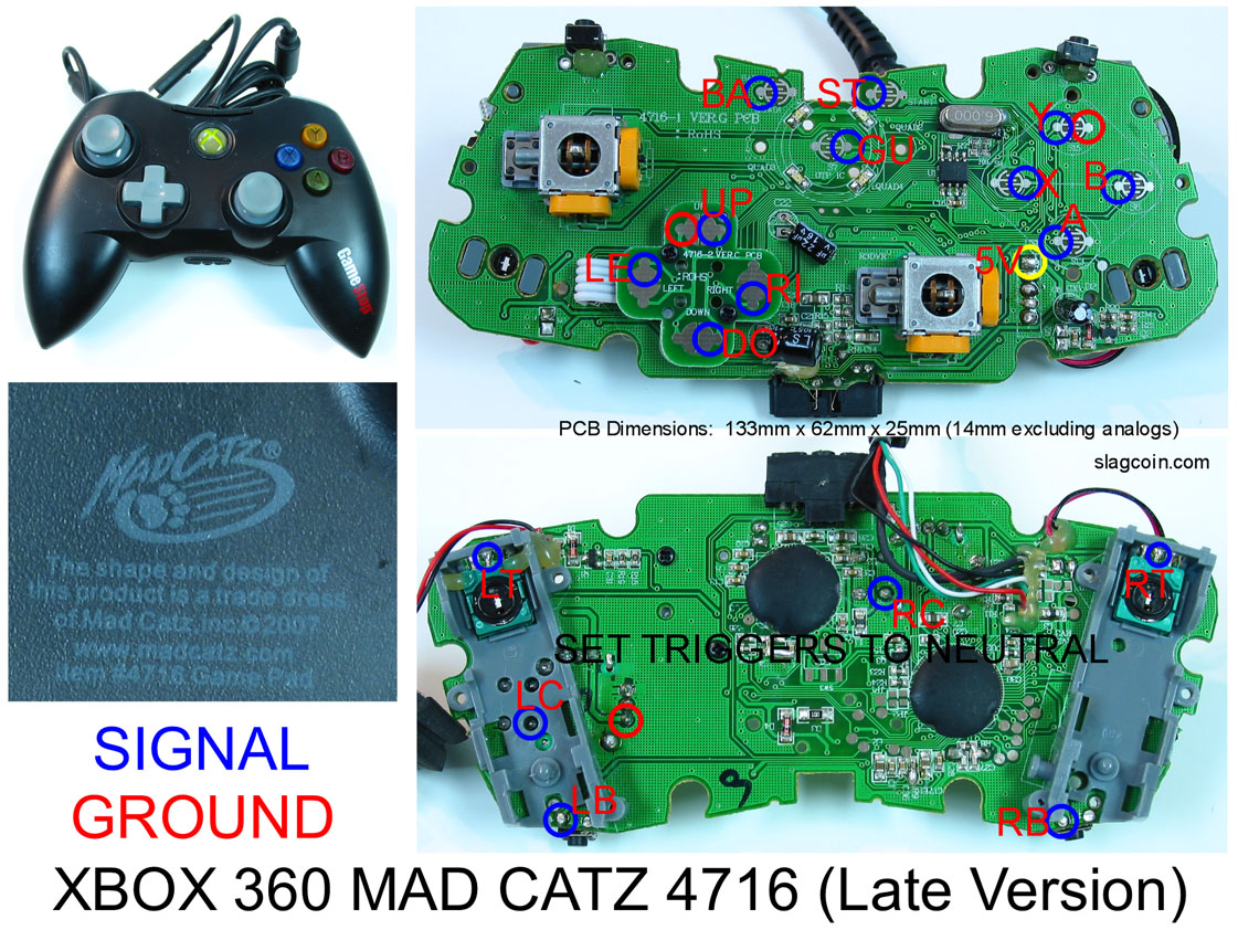 360_diagram3 madcatz 360 pad hack? shoryuken xbox 360 wired controller circuit board diagram at edmiracle.co