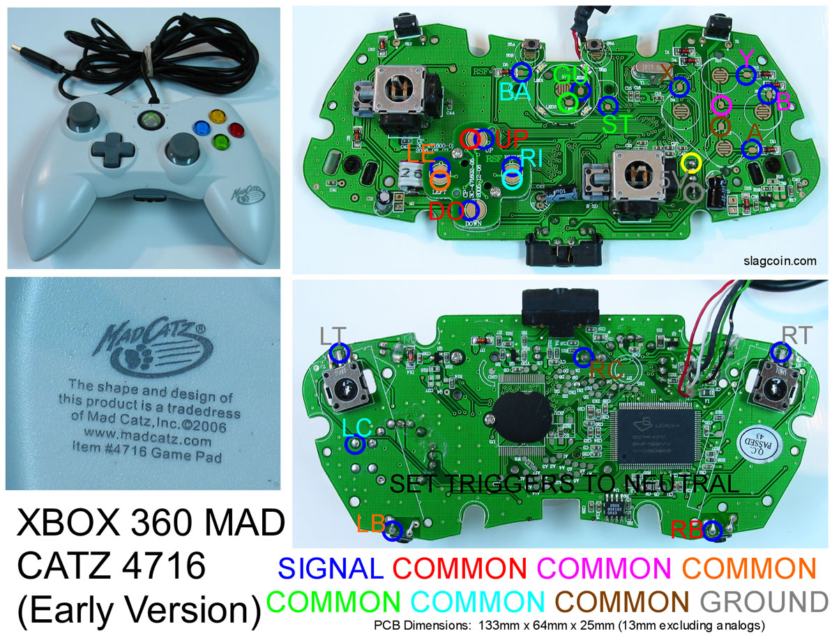360_diagram4 xbox 360 controller hack tutorial wireless hack now available!!! xbox 360 wired controller circuit board diagram at edmiracle.co