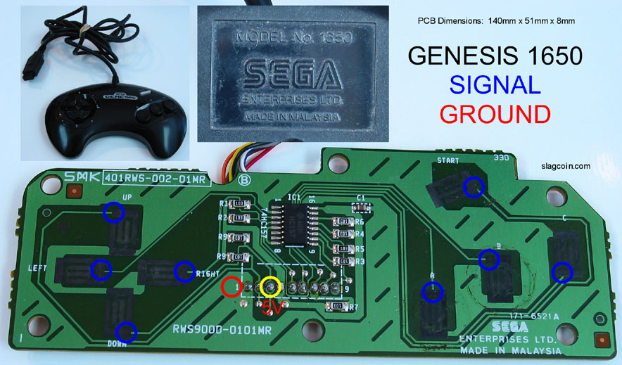 gen_diagram1 sega genesis controller to jamma general arcade tech help sega genesis controller wiring diagram at bayanpartner.co