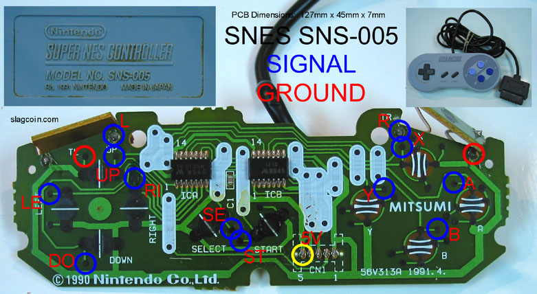 snes_diagram2 nes world forum snes nes controller mod super nintendo controller wiring diagram at crackthecode.co