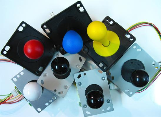 Joystick Controller - Joystick and Button Attributes and Brand Parts