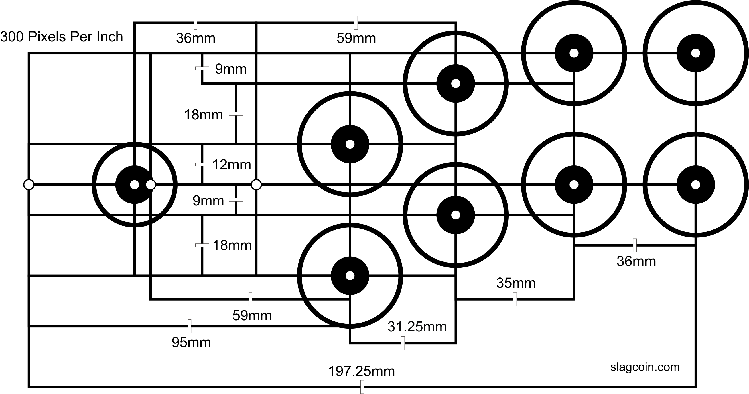 graphic about Printable Arcade Button Template called Joystick Controller - Panel Style