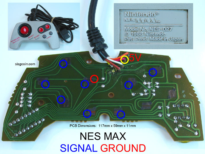 Joystick Controller - PCB and Wiring on sega genesis controller wiring, xbox controller wiring, nes controller wiring,