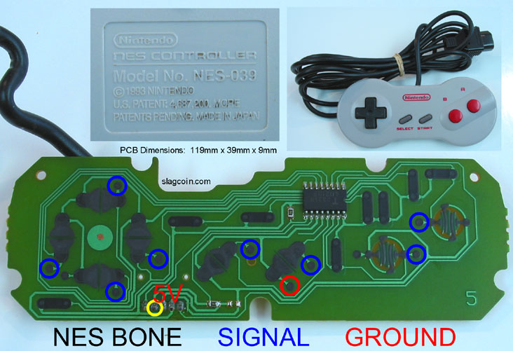 Joystick Controller Pcb And Wiring - Today Diagram Database on