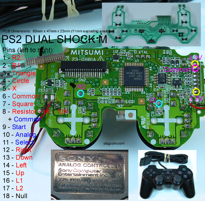 ps2_diagram4 Xbox Wired Controller Wiring Diagram on xbox 360 controller shell diagram, xbox 360 wireless controller circuit diagram, forza xbox 360 controller diagram, xbox controller connector,