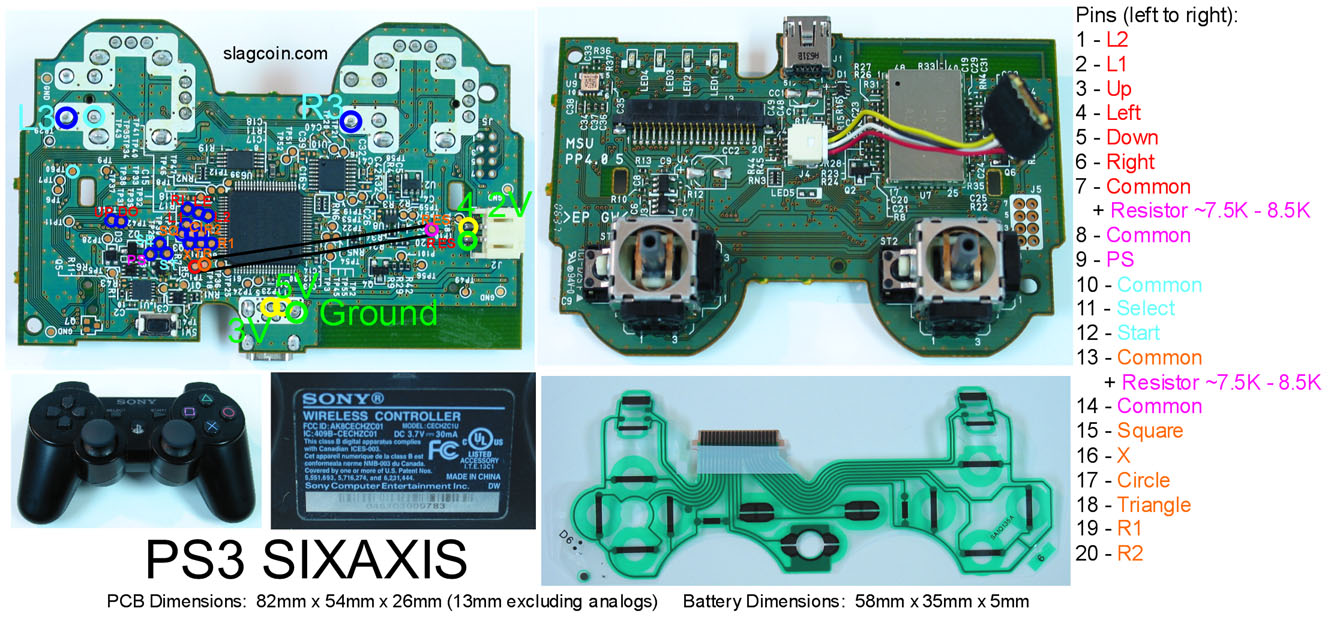Index Of Joystick Pcb Diagrams Gun Circuits Diagram Schematics Likewise Usb To Rj45 Pinout