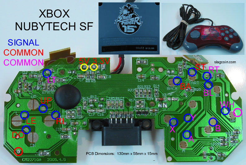 ps3 to xbox 360 controller wiring diagram wiring joystick controller - pcb and wiring xbox controller wiring diagram