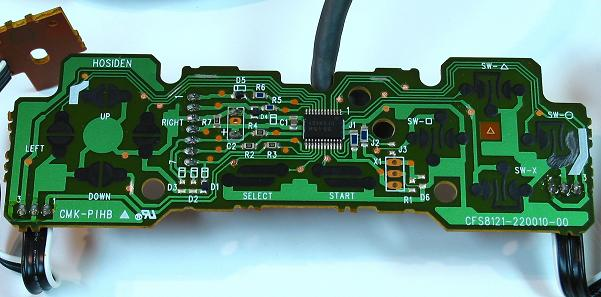 Pcb Mapping And Soldering: Ps1 Joystick Wiring Diagram At Shintaries.co